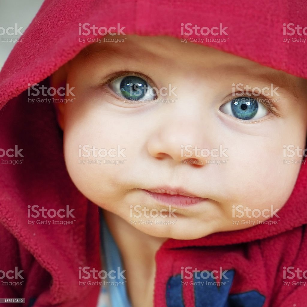 Little baby boy royalty-free stock photo