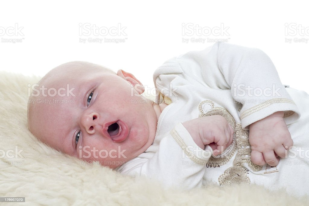Little Baby stock photo