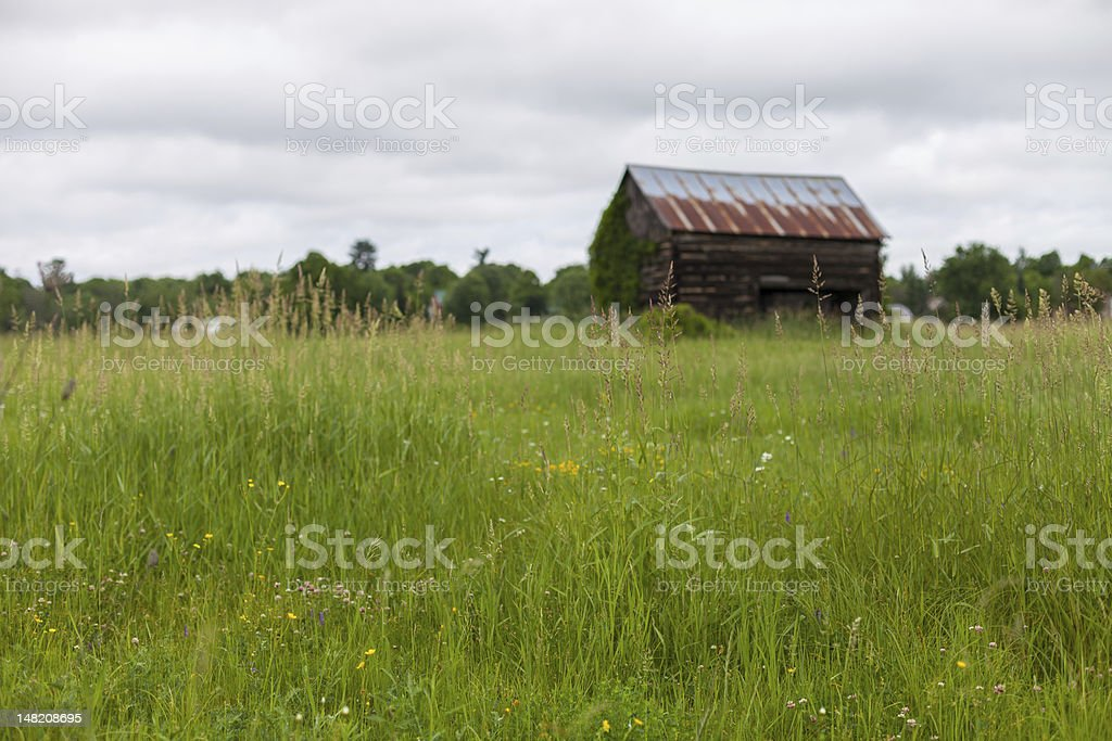 Little Barn royalty-free stock photo