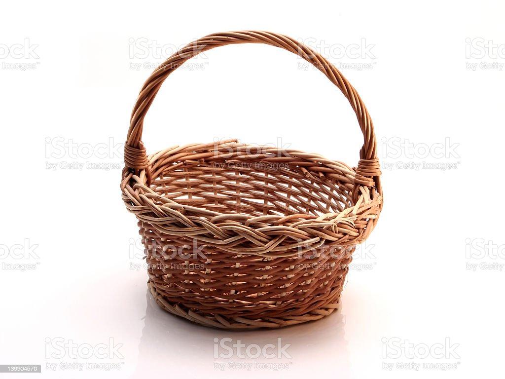 Little basket royalty-free stock photo
