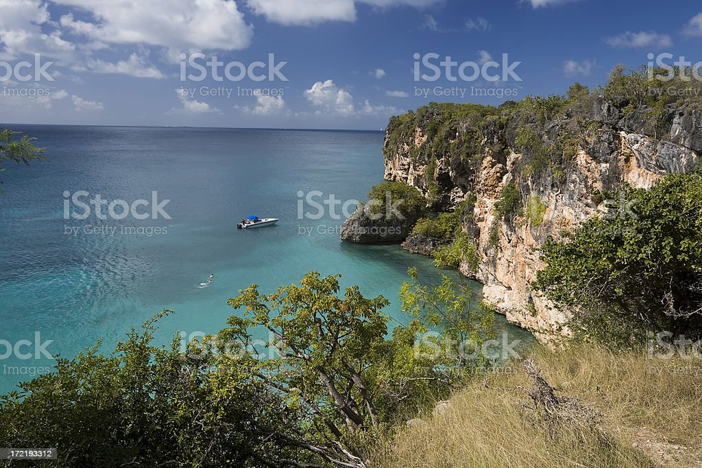 Little Bay, Anguilla stock photo