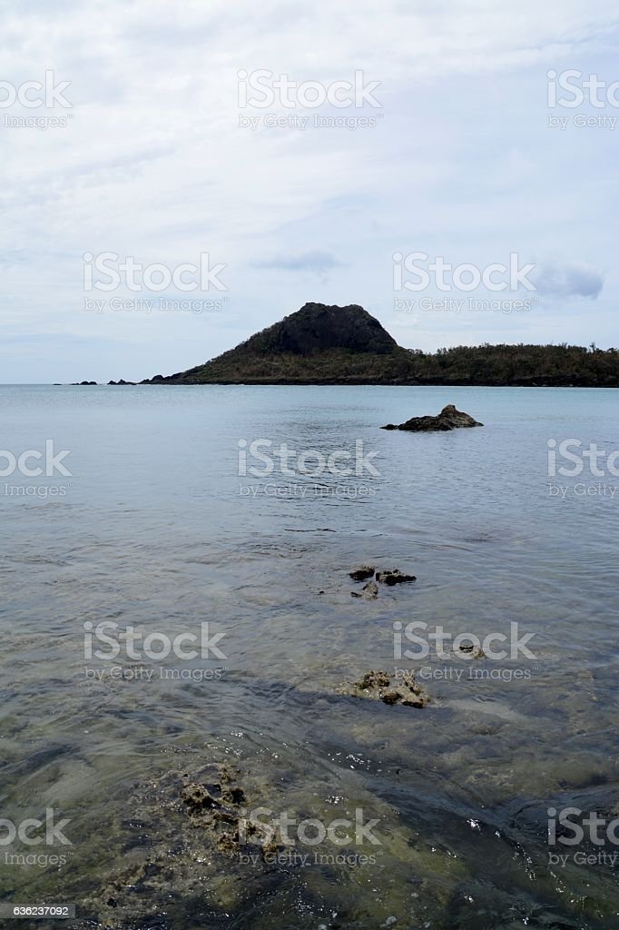 Little Bay at Kenting National Park, Taiwan stock photo