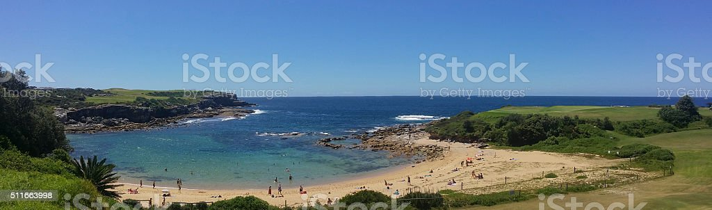 Little Bay Beach stock photo