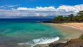 Little beach at Makena State Park on Maui, Hawaii