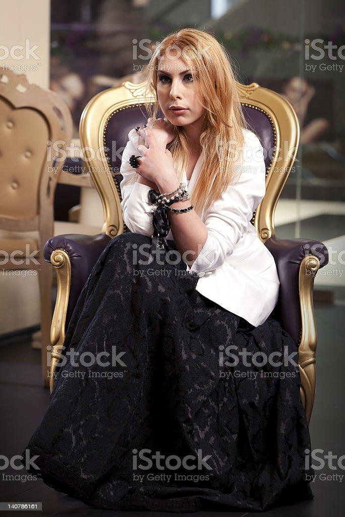 Little bit of fashion royalty-free stock photo
