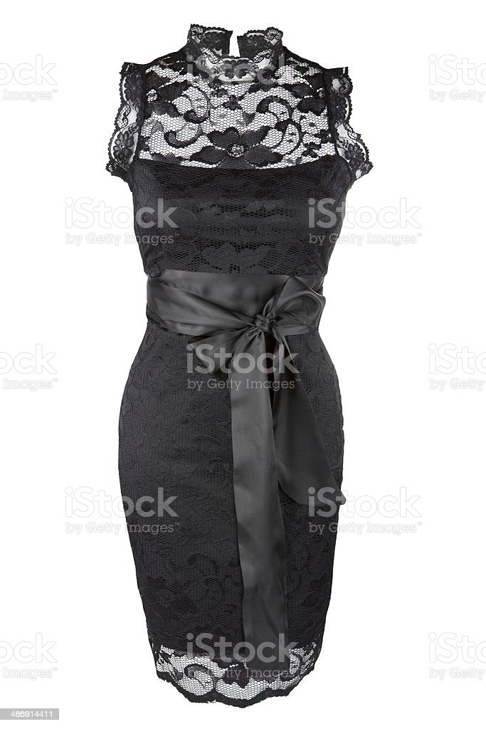 Little black dress stock photo