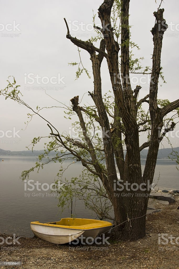 little boat stock photo