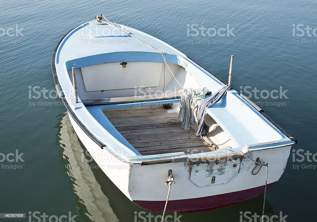 Little boat royalty-free stock photo