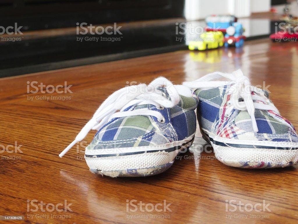 Little Booties stock photo