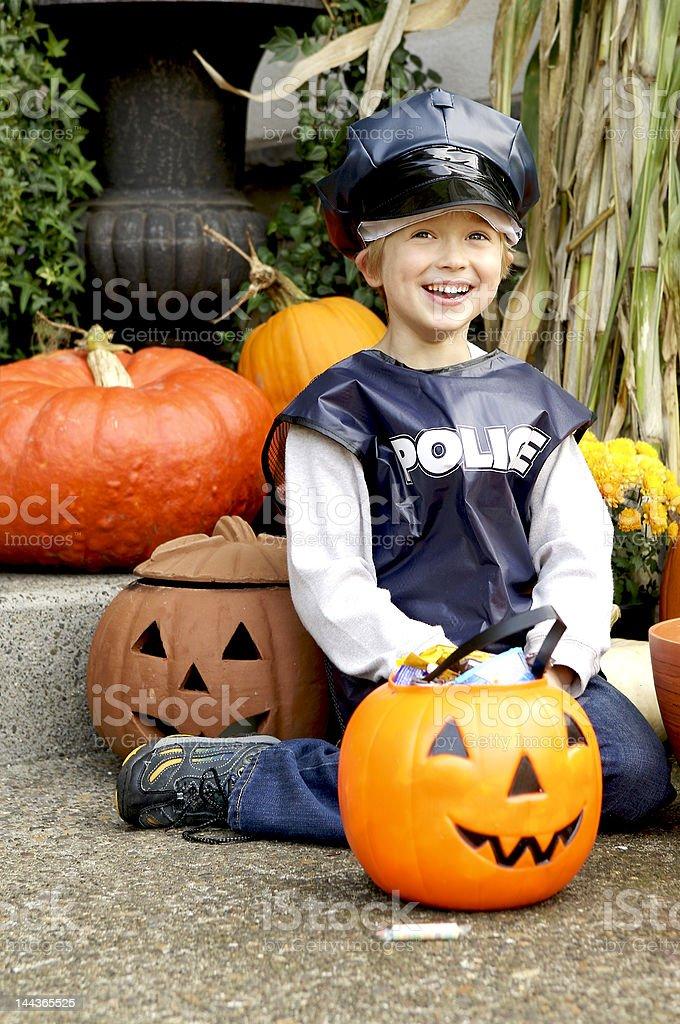 Little boy in Halloween Costume royalty-free stock photo