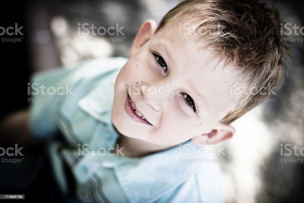 Little Boy royalty-free stock photo