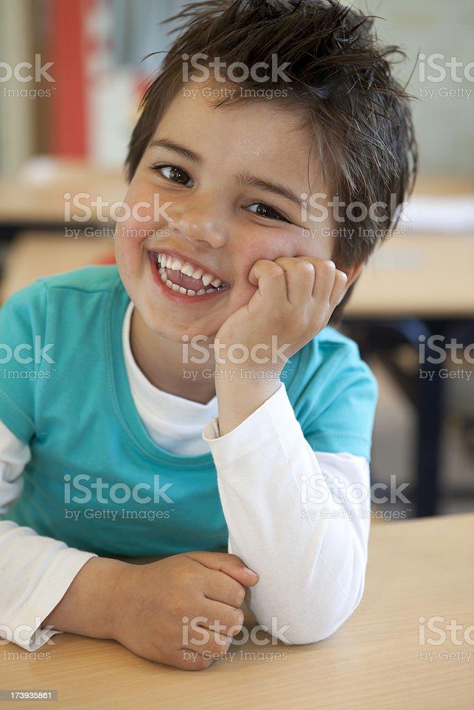 Little boy posing royalty-free stock photo