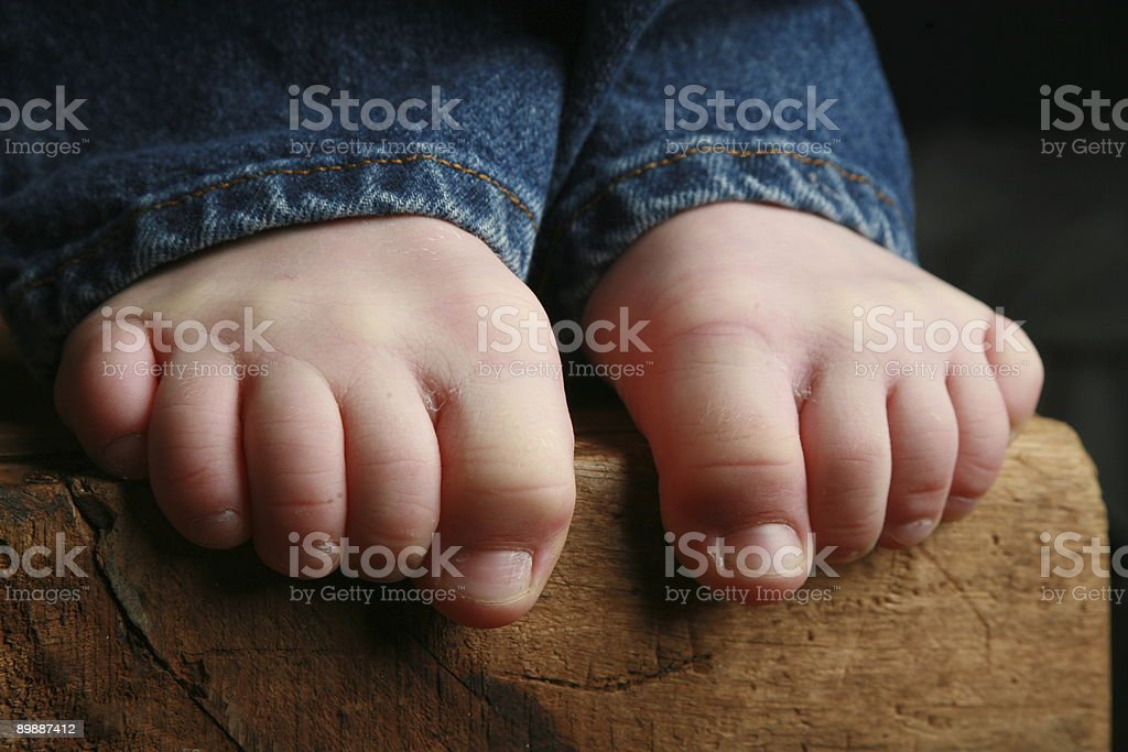 Little boys legs and Feet royalty-free stock photo