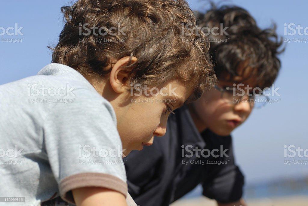 little boys royalty-free stock photo