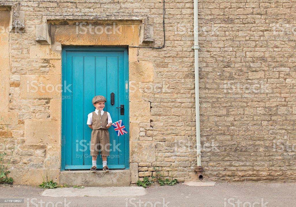 Little British Mister stock photo