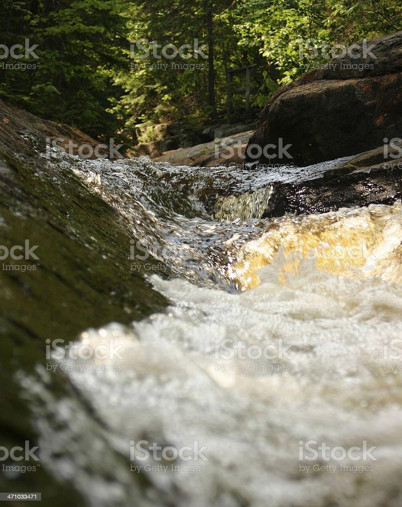 Little brook stock photo