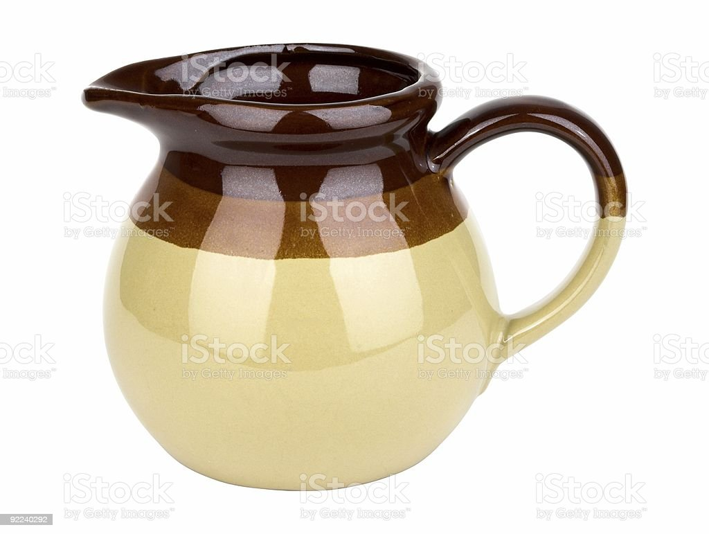 Little Brown Jug royalty-free stock photo