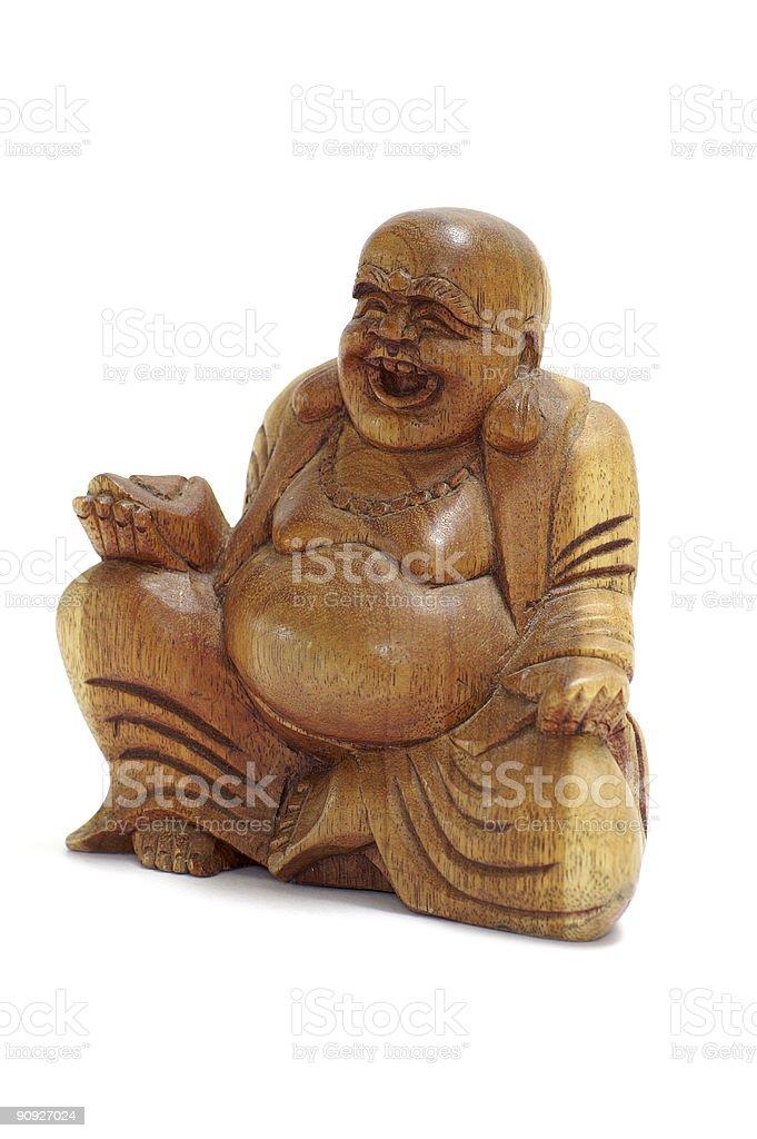 Little Buddha stock photo