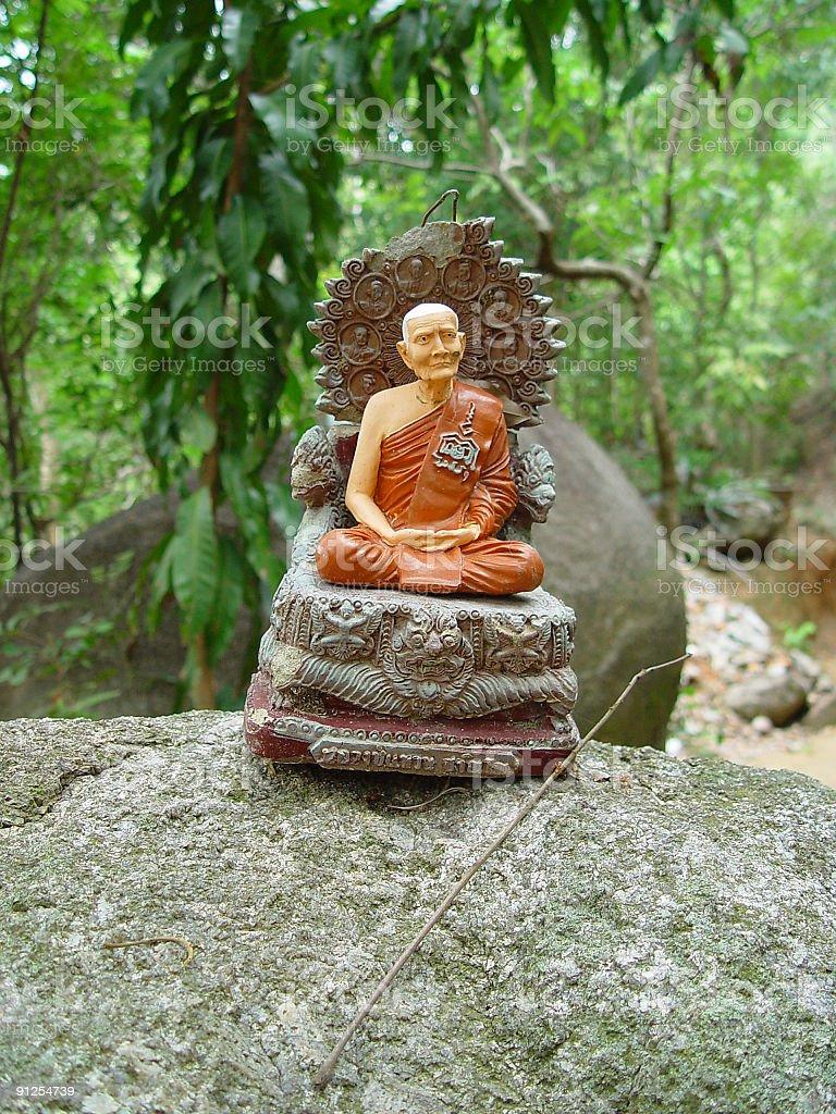 little budha royalty-free stock photo