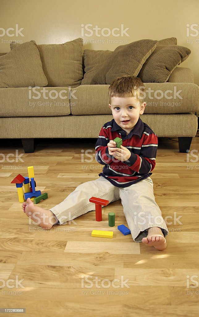 Little Builder royalty-free stock photo