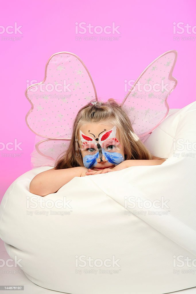 Little butterfly royalty-free stock photo
