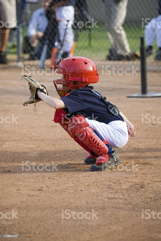 Little Catcher royalty-free stock photo