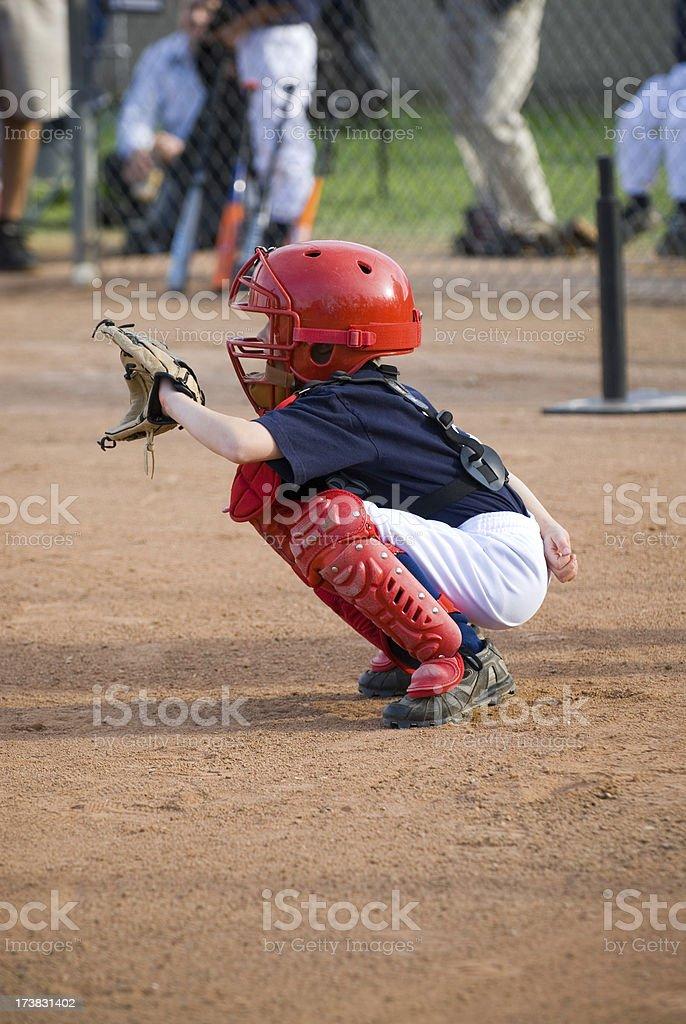 Little Catcher stock photo