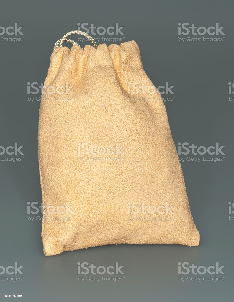Little Chamois Draw-String Sack or Marble Bag stock photo
