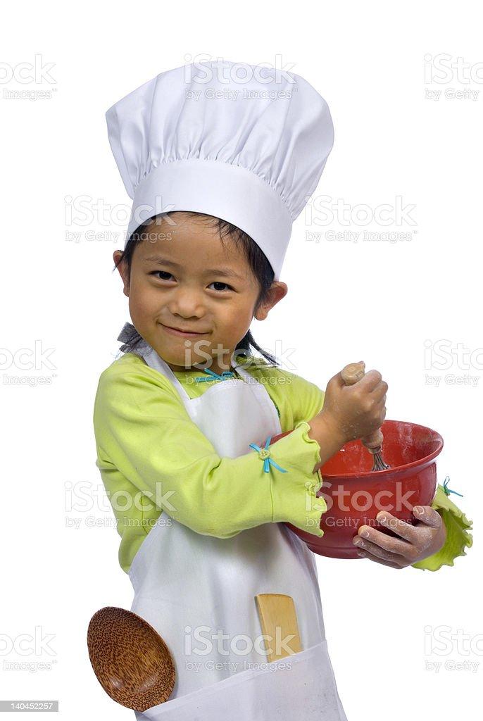 Little Chefs 004 stock photo