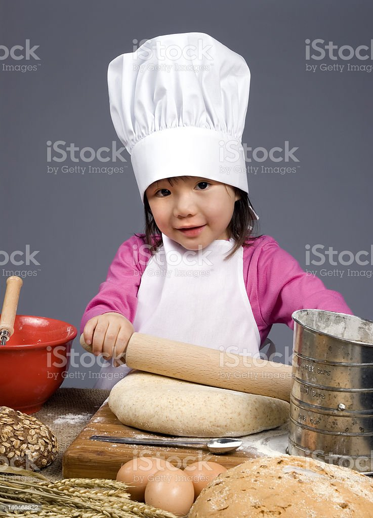 Little Chefs royalty-free stock photo