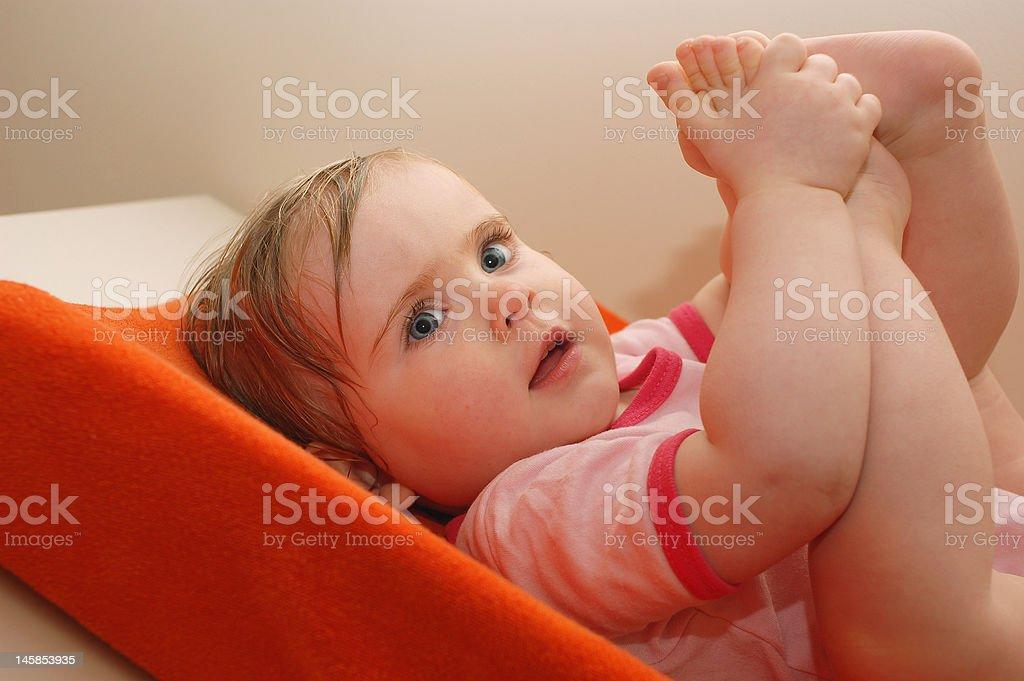 Little child royalty-free stock photo