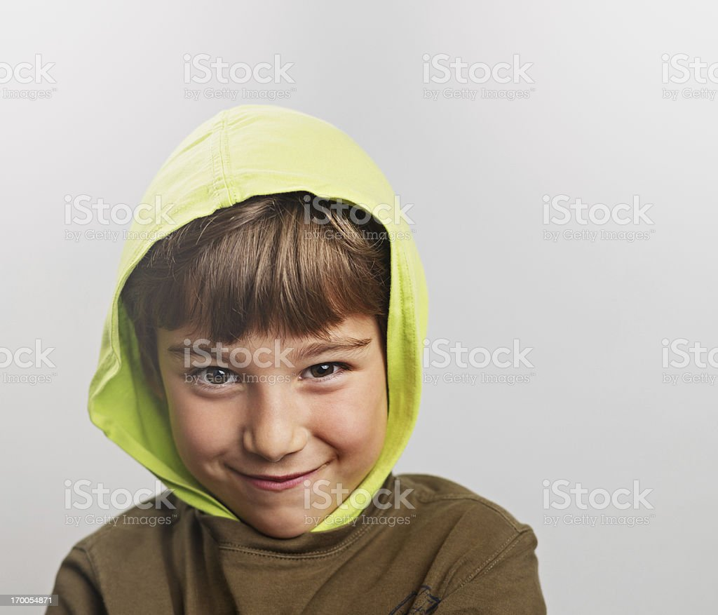 Little child smiling royalty-free stock photo