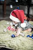 Little Christmas baby