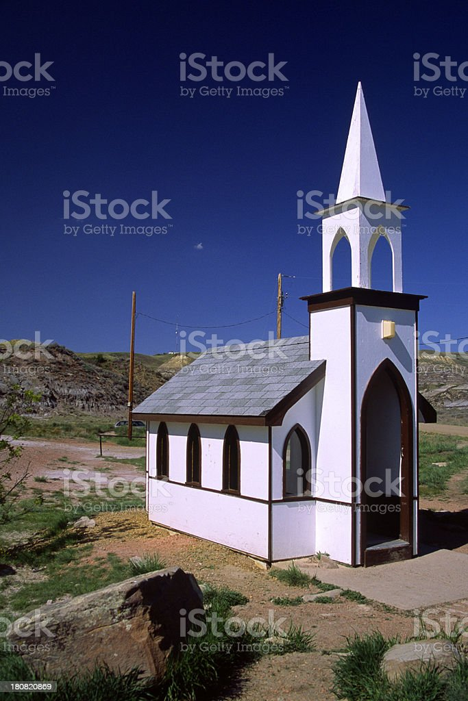 Little Church royalty-free stock photo