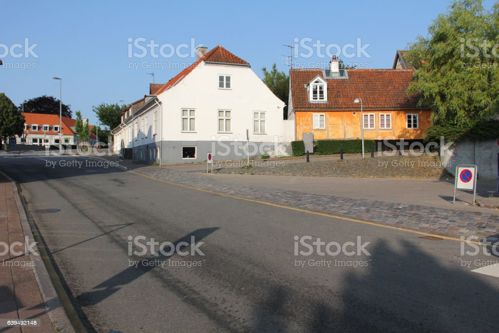 Little city out summer stock photo
