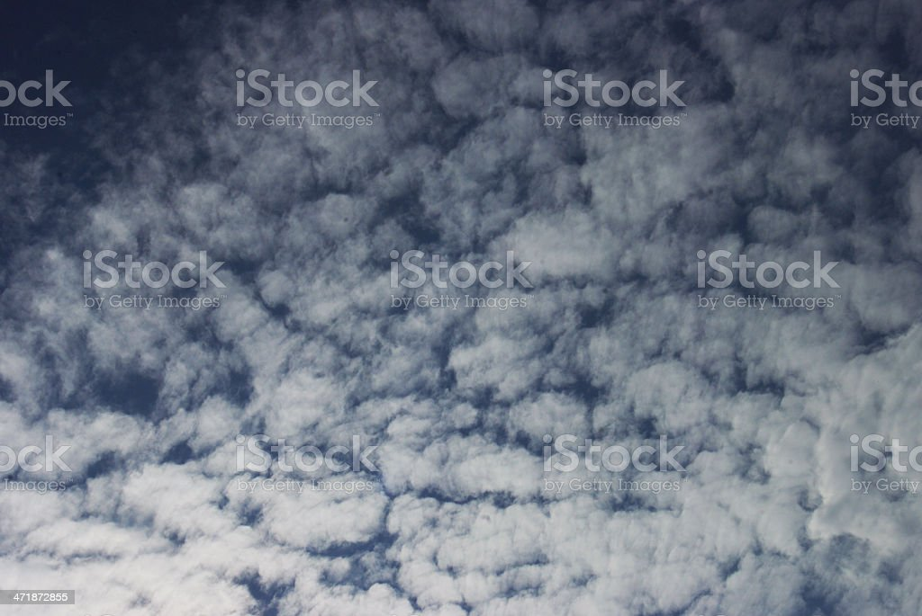 Little clouds royalty-free stock photo
