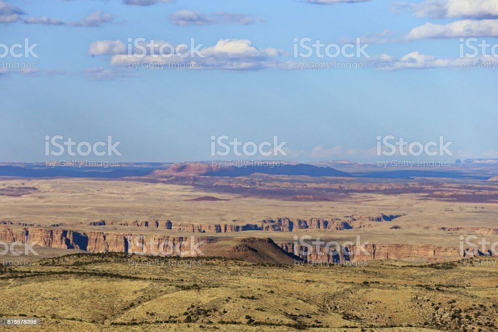 Little Colorado Canyon stock photo