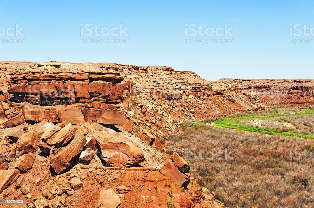 Little Colorado River Basin stock photo