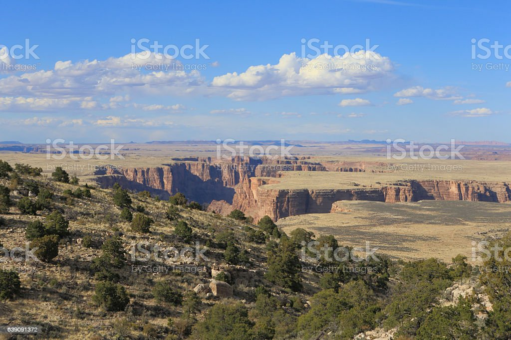 Little Colorado River Navajo Tribal Park stock photo