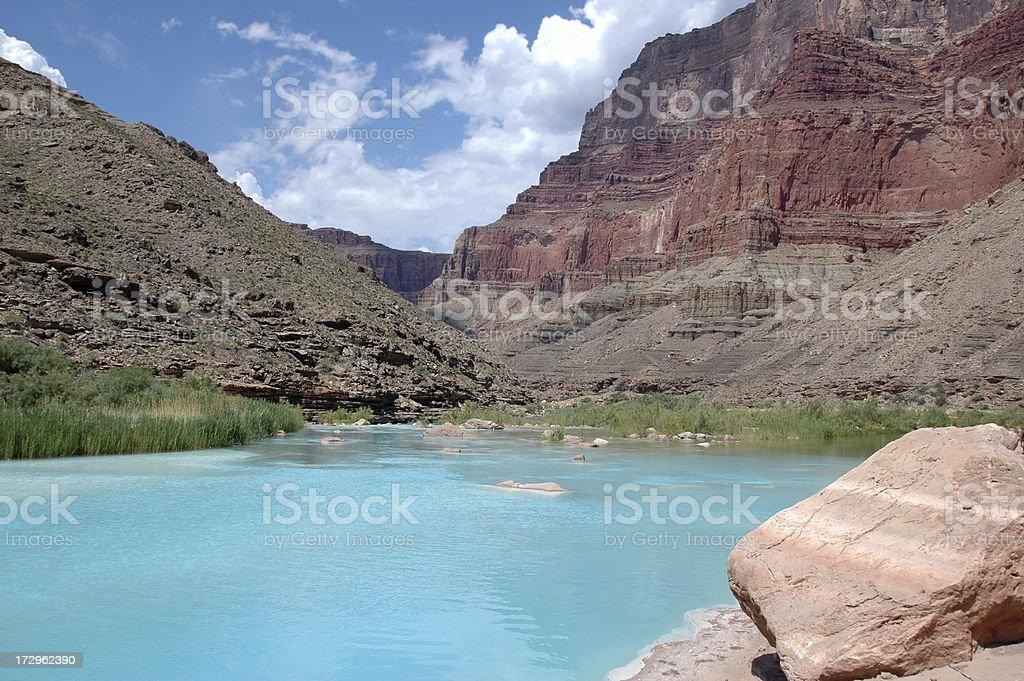 Little Colorado River royalty-free stock photo