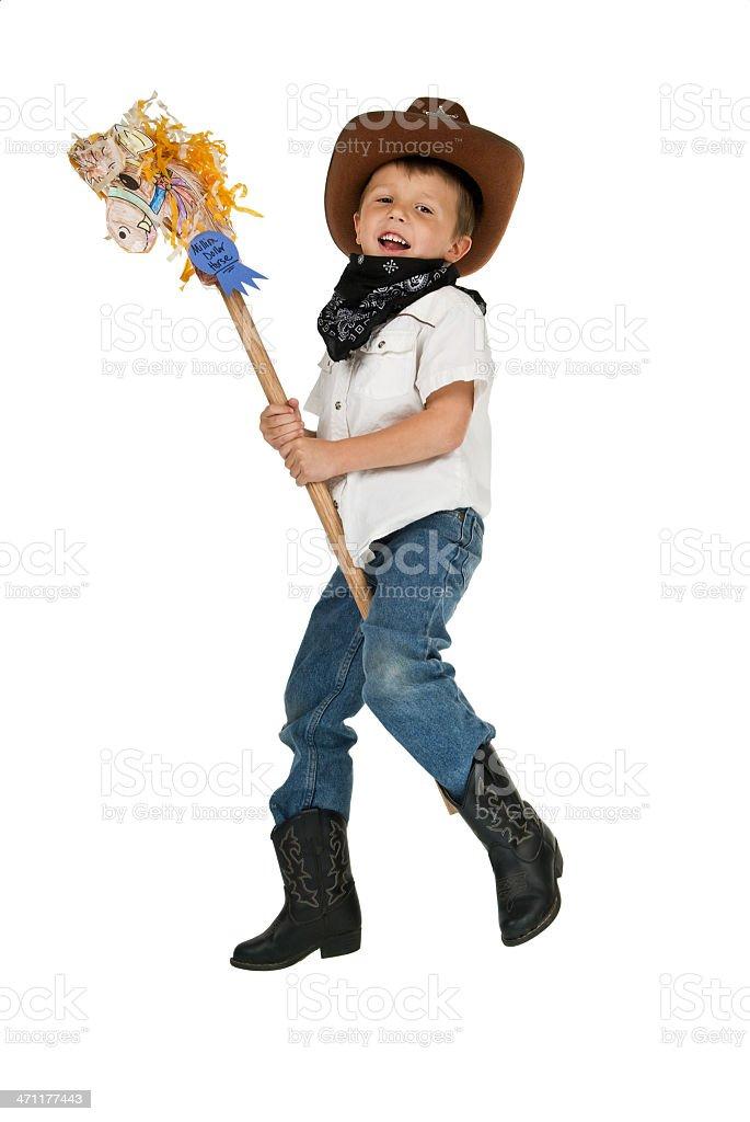 Little Cowboy Lizenzfreies stock-foto