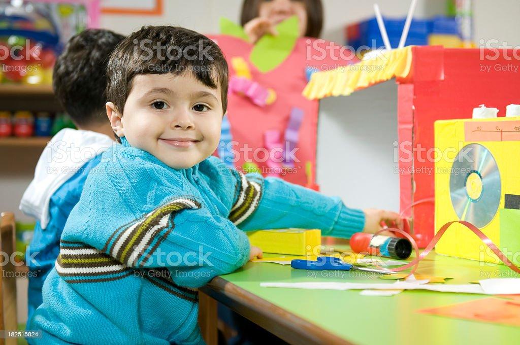 Little Creator royalty-free stock photo