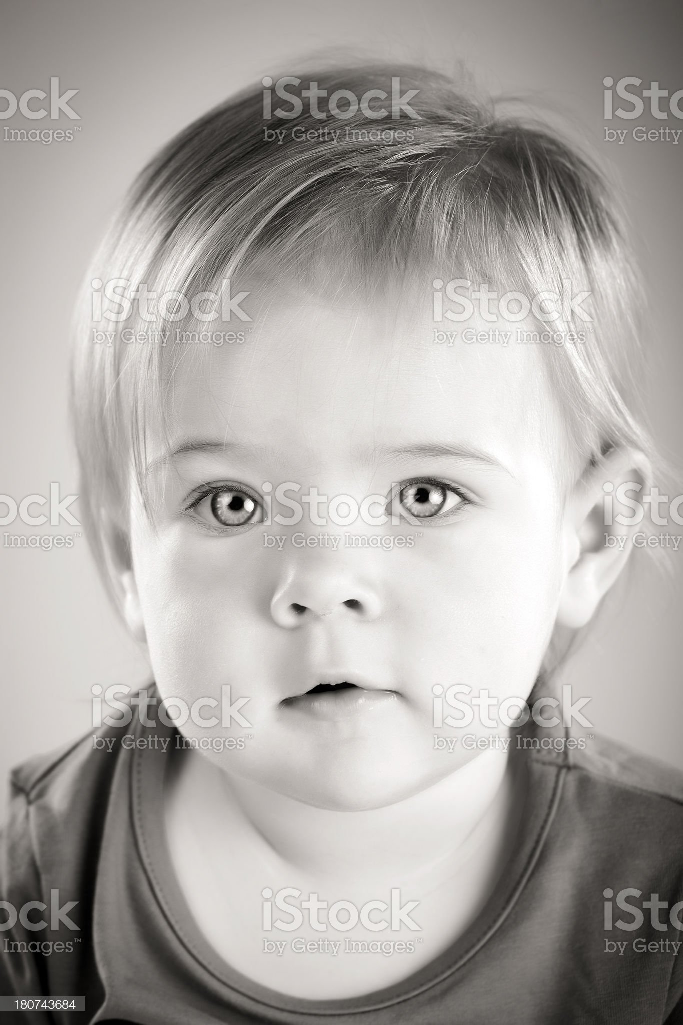 Little cute girl portrait royalty-free stock photo