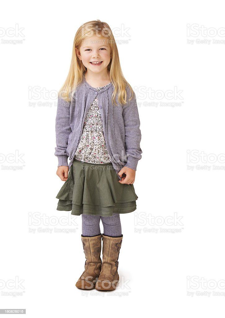 Little cutie stock photo