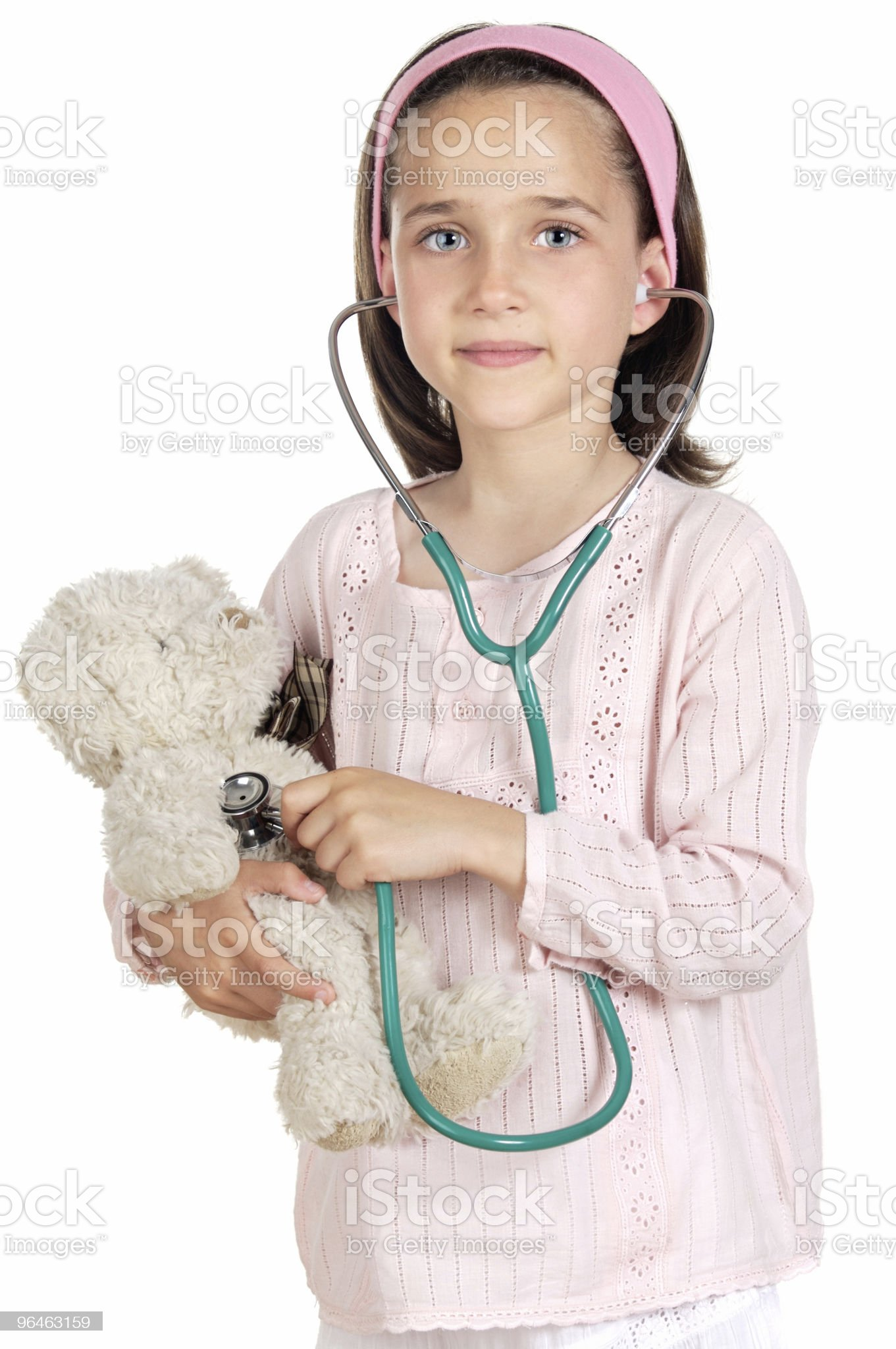 Little doctor royalty-free stock photo