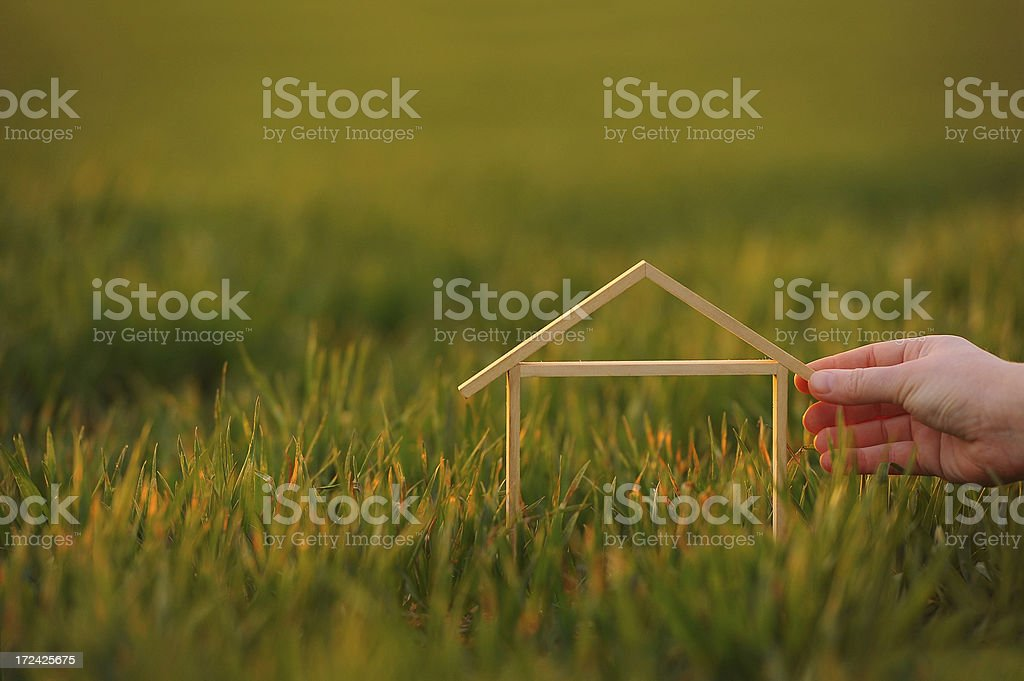 Little dream house concept royalty-free stock photo