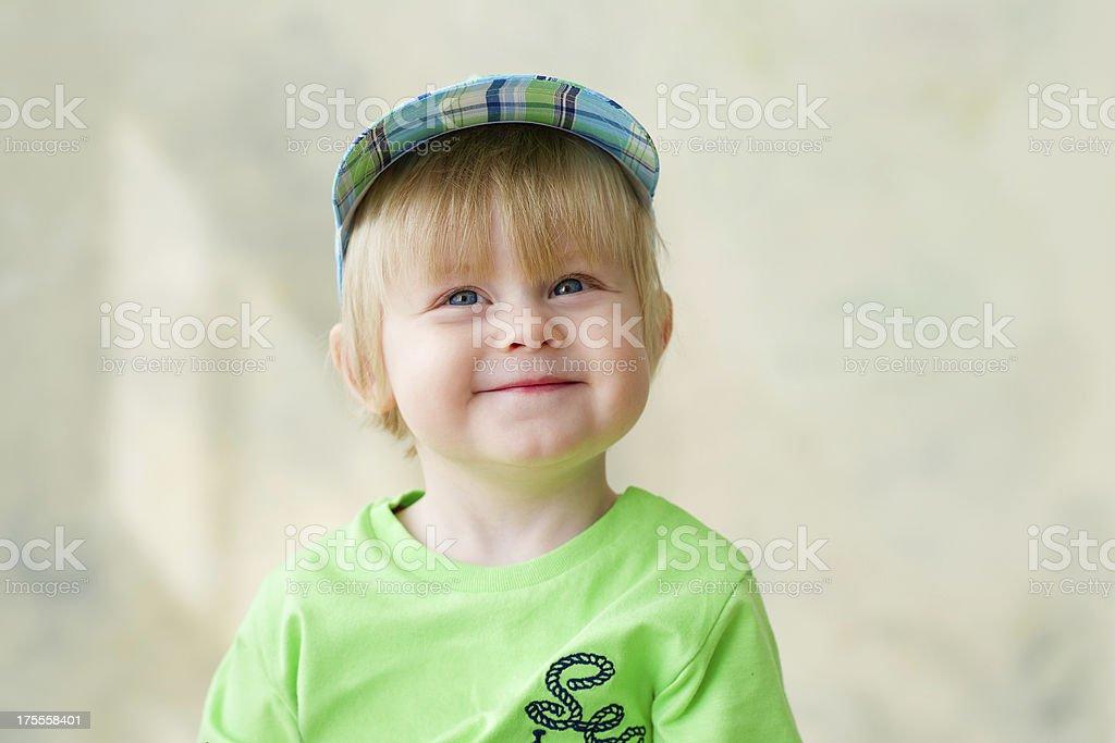 Little dreamer royalty-free stock photo