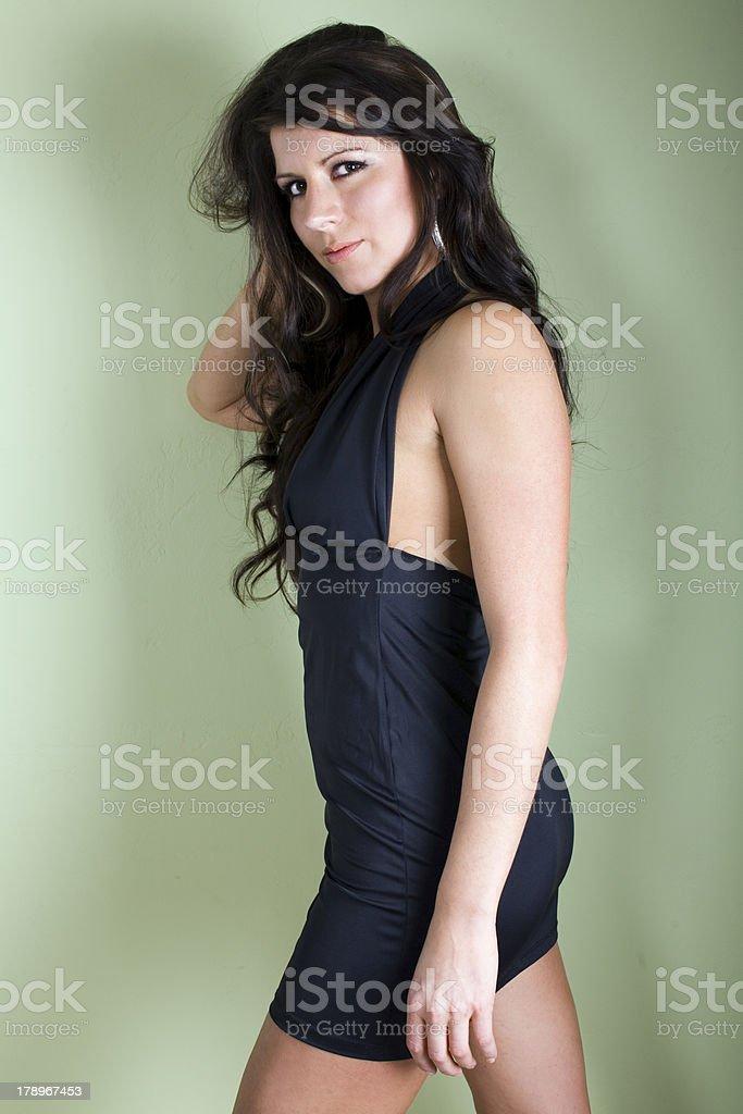 Little dress stock photo