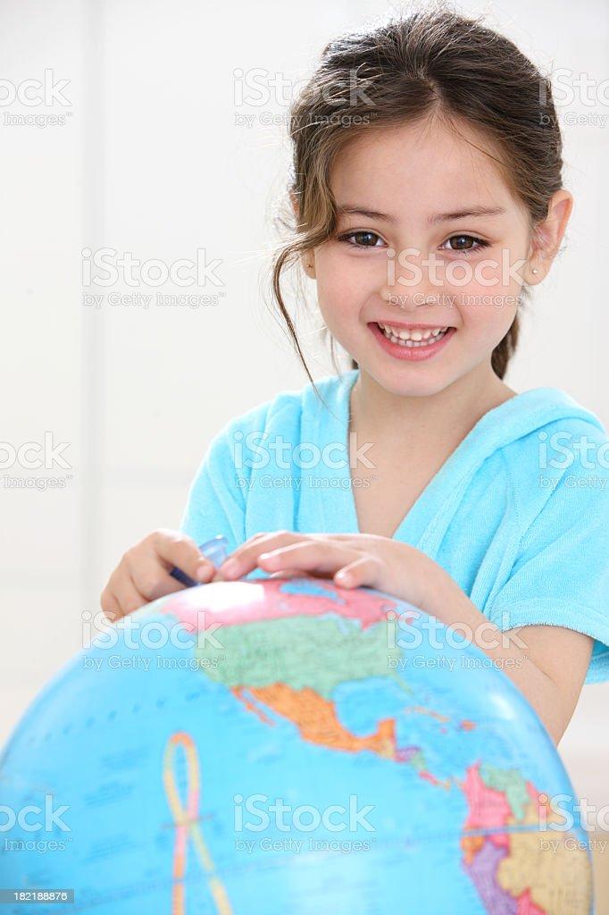 Little explorer royalty-free stock photo
