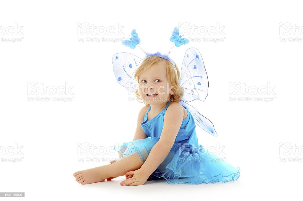 Little fairy royalty-free stock photo